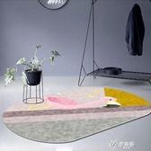 風北歐簡約幾何地毯客廳臥室滿鋪茶幾地墊可水洗輕奢風邊毯 伊芙莎YYS