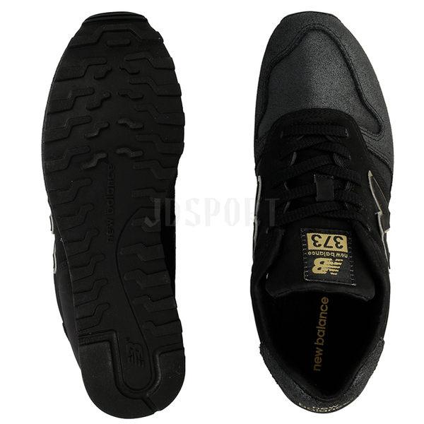 New Balance 373 女 黑 白 金 復古休閒鞋 慢跑鞋 情侶鞋 NB WL373NG