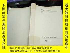 二手書博民逛書店Syntax罕見A Generative lntroduction Second editionY249957
