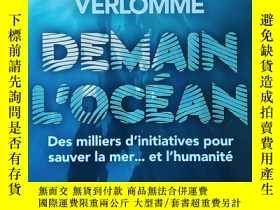 二手書博民逛書店法文原版書罕見Demain l océan: Des milliers d initiatives pour sa