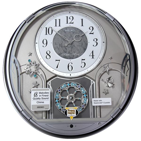 有發票 41.6X38.5公分【時間光廊】SEIKO 日本精工 整點報時 音樂掛鐘 QXM375S 時鐘