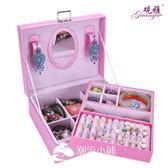 首飾盒 木質首飾盒帶鎖飾品收納盒 潮流小鋪