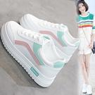 小白鞋 新款基礎小白鞋女韓版百搭學生鞋跑步休閑板鞋chic街拍鞋【新年禮物】