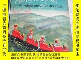 二手書博民逛書店through罕見reading and literature