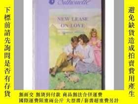 二手書博民逛書店英文中文雙語New罕見lease on love 戀戀穹蒼 有中