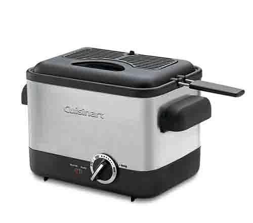 Cuisinart 美膳雅 不鏽鋼輕巧型溫控油炸鍋 CDF-100TW