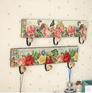 掛鉤創意木質掛衣鉤排鉤復古牆上衣帽鉤田園裝飾牆壁掛更衣室掛鉤