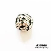 繁花串珠DIY 飾品大孔珠