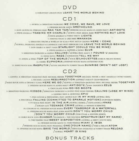 瑞典浩室黑手黨   遺忘世界  DVD附CD(購潮8)