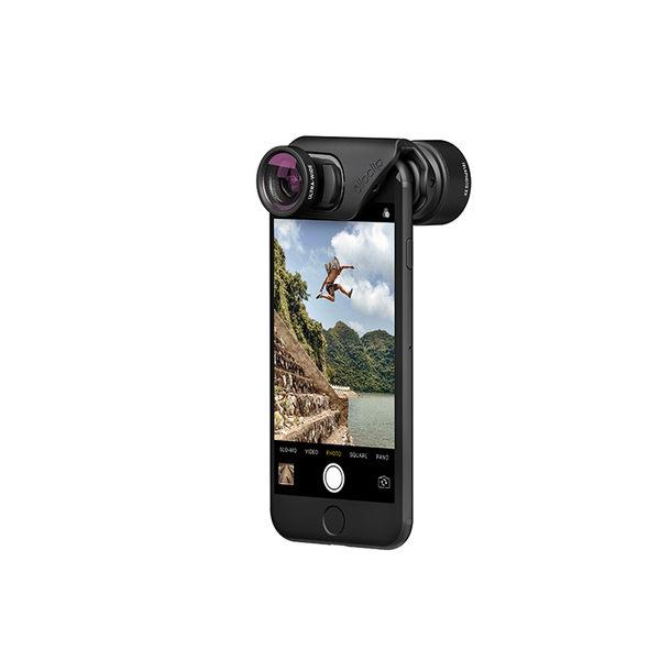 olloclip iPhone 7/7 Plus 運動長焦超廣角手機鏡頭