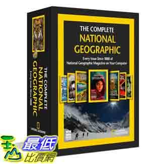 [美國直購 ShopUSA] 美國國家地理 The Complete National Geographic - Every Issue since (2012- 1888)