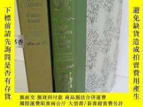 二手書博民逛書店限量版《羅賓漢的傳說》罕見David Gentleman 精美的