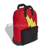 adidas 後背包 Pokemon Backpack 紅 黑 女款 兒童款 寶可夢 皮卡丘 運動休閒 【ACS】 GE1207