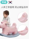 搖搖馬 兒童搖搖馬 嬰兒小木馬1-2-3周歲生日禮物寶寶搖搖車騎馬玩具 莎瓦迪卡