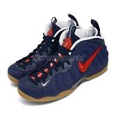 Nike 籃球鞋 Air Foamposite Pro USA 藍 紅 男鞋 休閒鞋 太空鞋 【ACS】 CJ0325-400