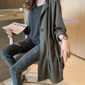 初心 韓系外套 【C0039】 休閒 長外套 寬鬆 大衣