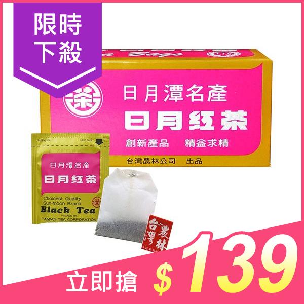 台灣農林 日月紅茶(2.4gx25包)【小三美日】原價$150