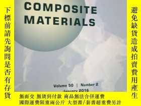二手書博民逛書店Journal罕見of Composite Materials