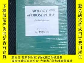 二手書博民逛書店Biology罕見of DrosophilaY436638 Demerec, M. Cold Spring H
