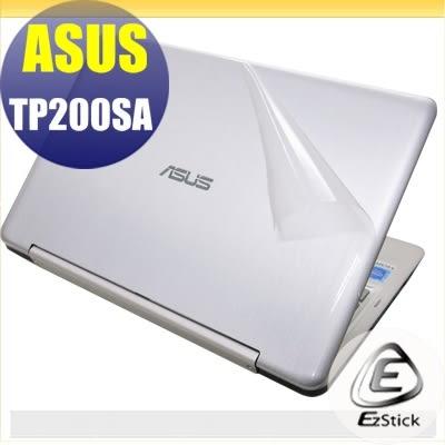 【Ezstick】ASUS TP200 SA 二代透氣機身保護貼(含上蓋、鍵盤週圍)DIY 包膜