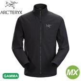 【ARC TERYX 始祖鳥 男 Gamma MX軟殼外套《黑》】24117/防潑水/超輕薄夾克/防風/耐磨