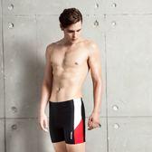 ★奧可那★ 紅白勝利拼接五分泳褲