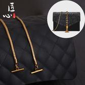 包包肩帶-適用于小鏈條包鏈條配件包包維修五金 全銅蛇骨包鏈子 ot扣肩帶