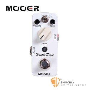 Mooer Hustle Drive 電子管失真效果器【Distortion Pedal】【Micro系列HD】