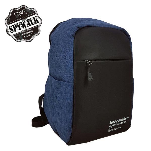 後背包 SPYWALK附外接式充電USB後背包 NO:S8032
