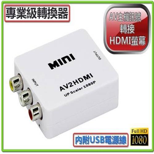 I-WIZ 彰唯 專業版 AV轉HDMI影音訊號轉換器 PC-25