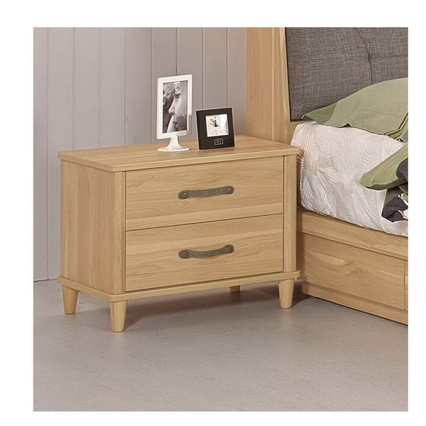【森可家居】奈德1.8尺床頭櫃 7CM085-5 木紋質感 北歐風