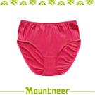 【Mountneer 山林 女 透氣三角中腰內褲《深玫紅》】11K82-36/透氣內褲/排汗內褲/三角褲