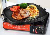 ✭慢思行✭【Z176】第二代不沾鍋兩用烤盤 麥飯石無油煙 排油 電磁爐 燒烤盤 韓國烤盤