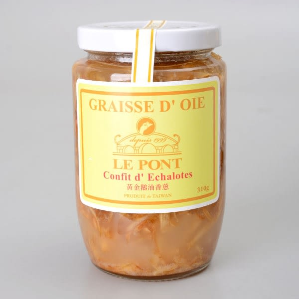 【LE PONT 樂朋】黃金鵝油香蔥   310g