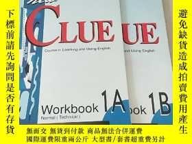 二手書博民逛書店NEW罕見CLUE Workbook 1A + 1B (Cour