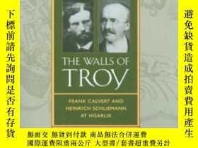 二手書博民逛書店Finding罕見The Walls Of Troy: Frank Calvert And Heinrich Sc