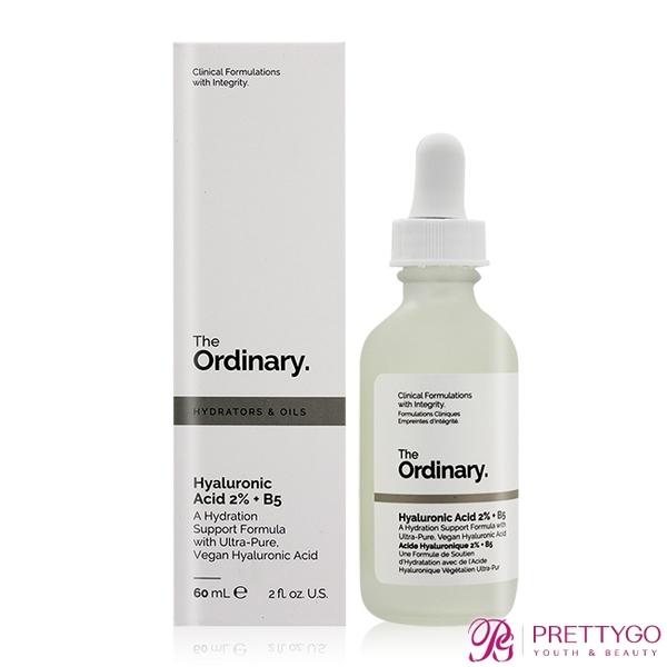 The Ordinary Hyaluronic Acid 2% + B5 超純補水玻尿酸(60ml)【美麗購】