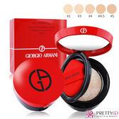 GIORGIO ARMANI 訂製絲光精華氣墊粉餅(15g)-多色可選【美麗購】