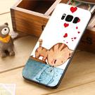 三星 Samsung Galaxy S8 S8+ plus G950FD G955FD 手機殼 軟殼 保護套 兩個世界 貓戀魚
