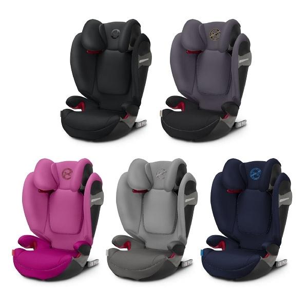 Cybex Solution S-FIX 安全座椅/汽座 (5色可選)