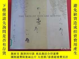 二手書博民逛書店外文書罕見THE ARTS OF HON AMI KOETSU