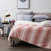 HOLA 弗里曼經典長羔絨毯 粉色款 雙人尺寸