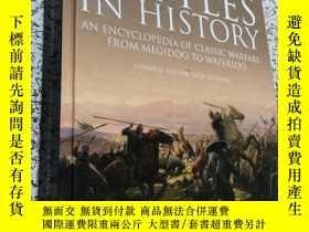二手書博民逛書店the罕見greatest battles in history