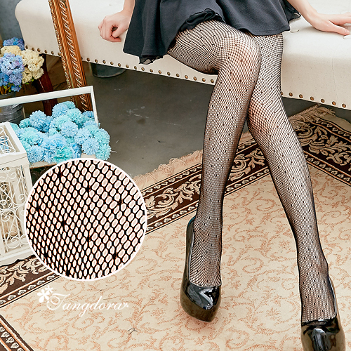 【 唐朵拉 】點點性感小網格網襪 性感魅惑/超薄絲襪/貼身褲襪/透膚襪(281)