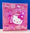 【震撼精品百貨】Hello Kitty 凱蒂貓~三麗鷗 KITTY 日本A4三孔活頁文件夾/套-方格#36989