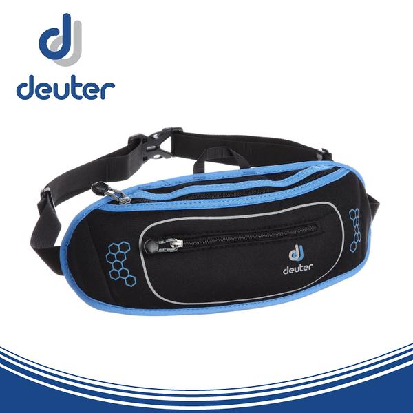 【Deuter 德國 Neo Belt II 腰包《黑/藍》】39050/隱藏式貼身錢包/隨身腰包/零錢包/臀包