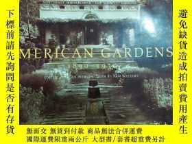 二手書博民逛書店AMERICAN罕見GARDENS(1890-1930) 美國莊園(1890-1930)Y426445 SAM