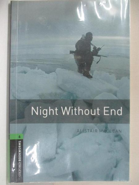 【書寶二手書T3/語言學習_BD2】Night without end_Alistair MacLean
