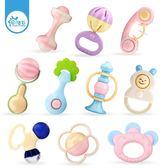 手搖鈴嬰兒玩具0-3-6-12個月寶寶男女孩4益智牙膠1歲新生兒幼兒5     西城故事