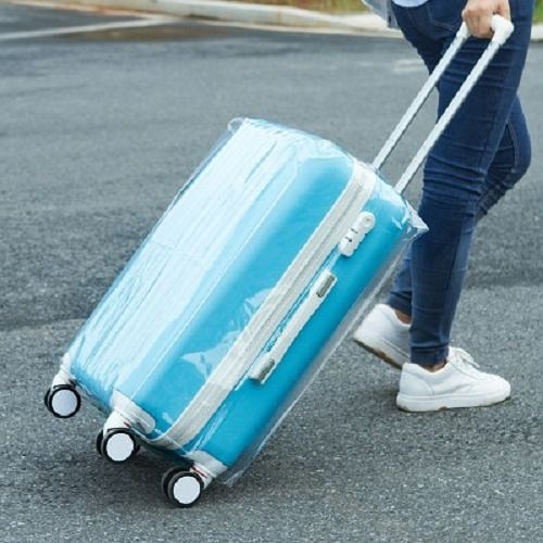 24吋行李箱透明加厚耐磨防水保護套 拉桿箱套 旅行箱套